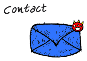 button to contact info